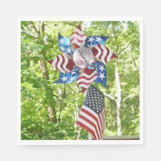 Patriotic Napkins Paper Napkin