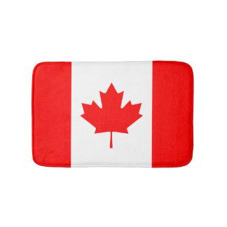 Patriotic National Flag of CANADA Bath Mat