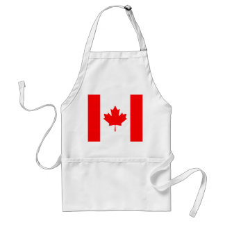 Patriotic National Flag of CANADA Standard Apron