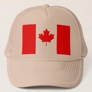 Patriotic National Flag of CANADA Trucker Hat