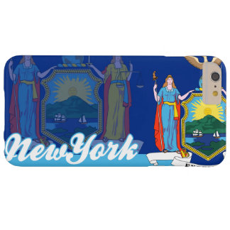 Patriotic New York State Flag Barely There iPhone 6 Plus Case