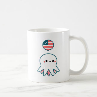 Patriotic Octopus Coffee Mug