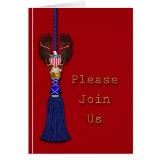 Patriotic or Military Invitation