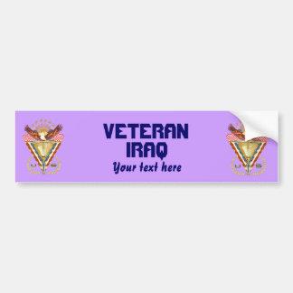 Patriotic or Veteran View Artist Comments Bumper Sticker