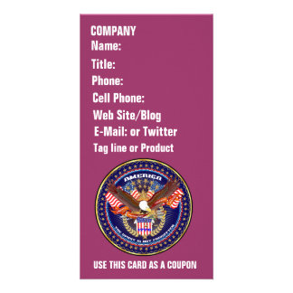 Patriotic or Veteran View Artist Comments Picture Card