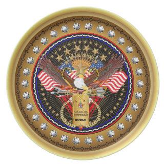 Patriotic or Veteran View Artist Comments Plates