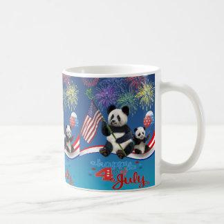 Patriotic Pandas Coffee Mug