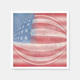 Patriotic Paper Napkin