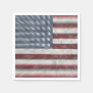 Patriotic Paper Napkins