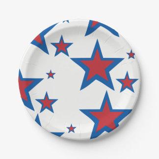 Patriotic Paper Plates