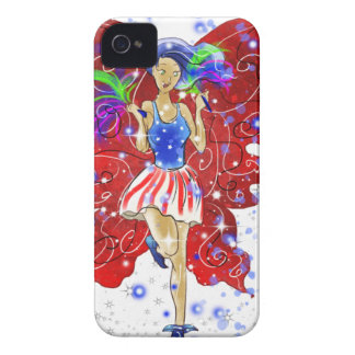 Patriotic Patsy iPhone 4 Covers