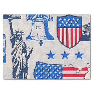 Patriotic pattern gift tissue paper