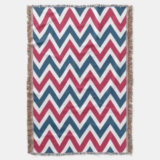 Patriotic Pattern Throw Blanket