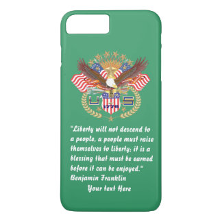 Patriotic Peace Forest Green Kentucky iPhone 8 Plus/7 Plus Case