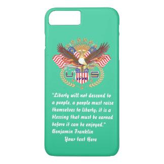 Patriotic Peace Forest Green Sea iPhone 7 Plus Case