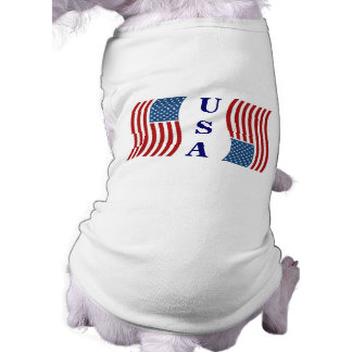 Patriotic pet clothing