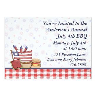 Patriotic Picnic Card