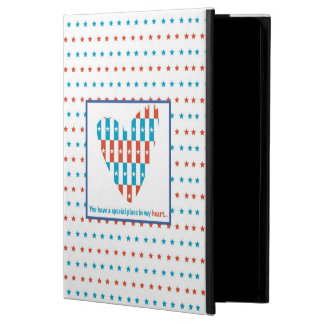 Patriotic Place In Heart, Support Encouragement iPad Air Case
