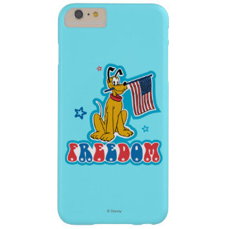 Patriotic Pluto - Freedom Barely There iPhone 6 Plus Case