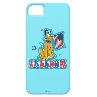 Patriotic Pluto - Freedom iPhone 5 Cases