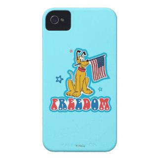 Patriotic Pluto - Freedom iPhone 4 Cover