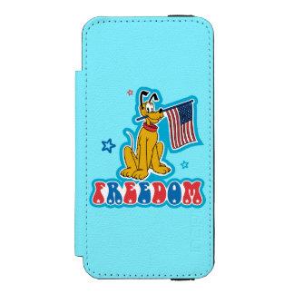 Patriotic Pluto - Freedom Incipio Watson™ iPhone 5 Wallet Case