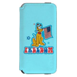 Patriotic Pluto - Freedom Incipio Watson™ iPhone 6 Wallet Case