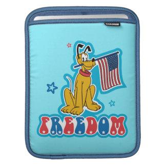 Patriotic Pluto - Freedom iPad Sleeves