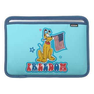 Patriotic Pluto - Freedom Sleeve For MacBook Air
