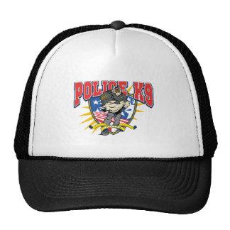 Patriotic Police K9 Unit Trucker Hat