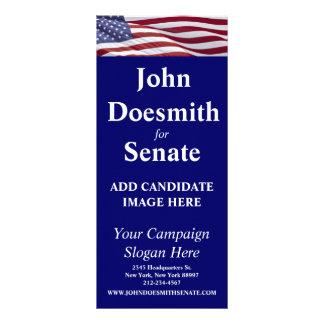 Patriotic Political Campaign Custom Rack Cards