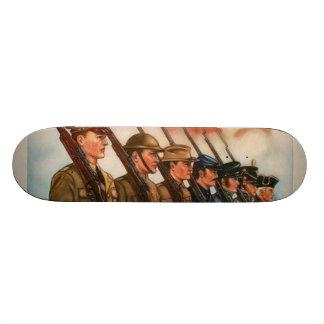 Patriotic Poster Skateboard