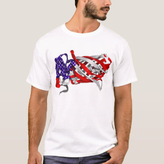 patriotic protein - biobeautiful T-Shirt