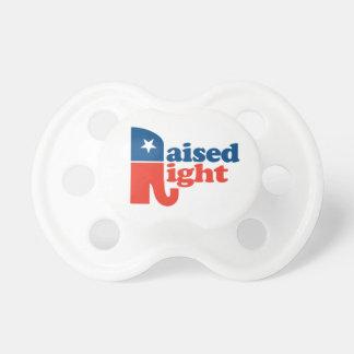 Patriotic Raised Right Pacifier