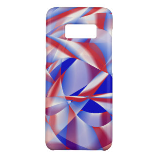 Patriotic Red, White And Blue Cell Phone Cover