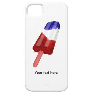 Patriotic Red White and Blue Iceblock iPhone 5 Case