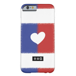 Patriotic Red White And Blue Unity Heart Barely There iPhone 6 Case