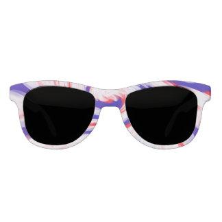 Patriotic Red White Blue Sunglasses