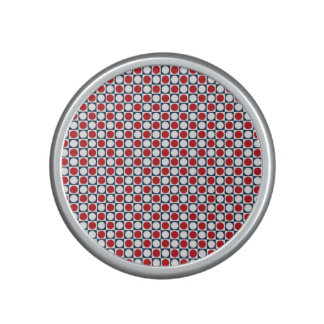 Patriotic Retro Dots Pattern Speaker