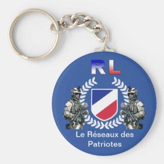 Patriotic RL Keychain