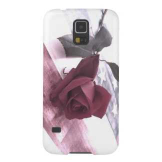 Patriotic Rose 3 Galaxy S5 Covers
