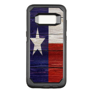 Patriotic Rustic Wood Texas Flag OtterBox Commuter Samsung Galaxy S8 Case