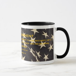 "Patriotic ""Second Amendment"" Coffee Mug"