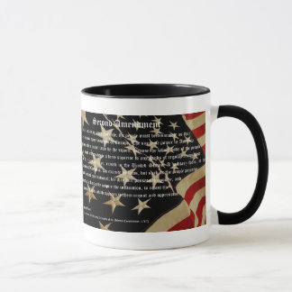 Patriotic Second Amendment Coffee Mug
