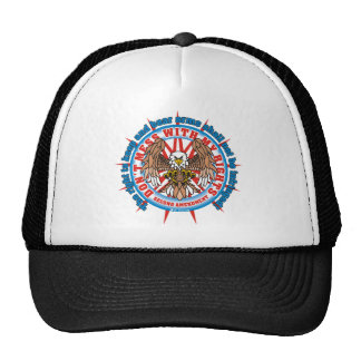 Patriotic Second Amendment Trucker Hats