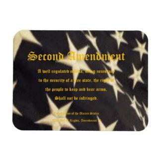 """Patriotic """"Second Amendment"""" Magnet"""