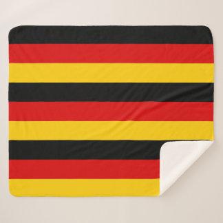 Patriotic Sherpa Blanket with Germany flag