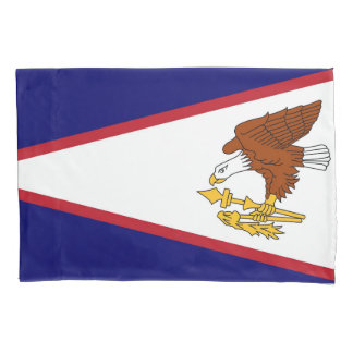 Patriotic Single Pillowcase flag of American Samoa