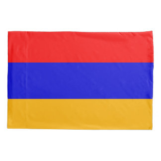 Patriotic Single Pillowcase flag of Armenia