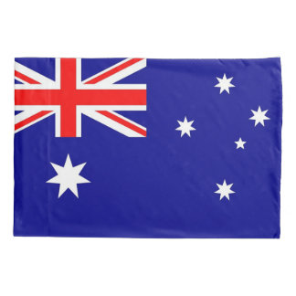 Patriotic Single Pillowcase flag of Australia